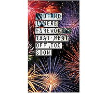 Fall Out Boy Fourth of July by frankieee