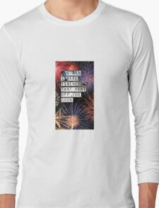 Fall Out Boy Fourth of July Long Sleeve T-Shirt