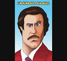 I'm Kind of a big deal - Ron Burgundy Mens V-Neck T-Shirt