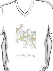 Recalculating Map T-Shirt