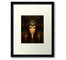 Tamed and torn Framed Print