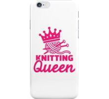 Knitting queen iPhone Case/Skin