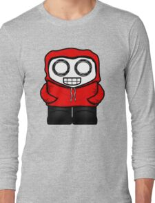 Tim In Red Long Sleeve T-Shirt