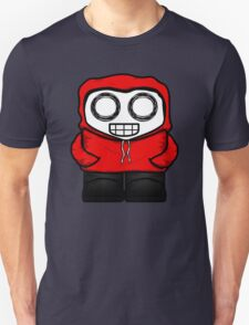Tim In Red Unisex T-Shirt