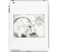 Skull & Sun Print iPad Case/Skin