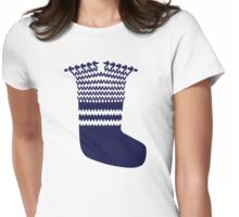 Knitting sock Womens Fitted T-Shirt