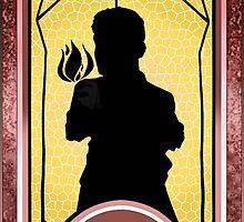 Barry Kramer* Persona Tarot Card - Magician  by Tae-Senpai