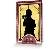 Barry Kramer* Persona Tarot Card - Magician  Greeting Card