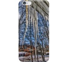 Cabin Fever With Icicles iPhone Case/Skin