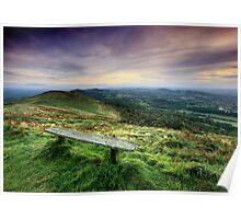 The Malvern Hills: Elgar's Inspiration Poster