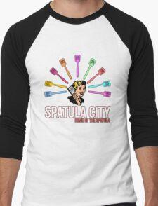 Spatula City Men's Baseball ¾ T-Shirt