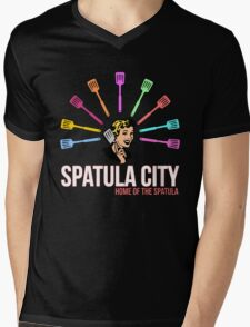 Spatula City Mens V-Neck T-Shirt