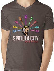 Spatula City Mens V-Neck T-Shirt