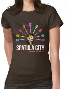 Spatula City Womens Fitted T-Shirt