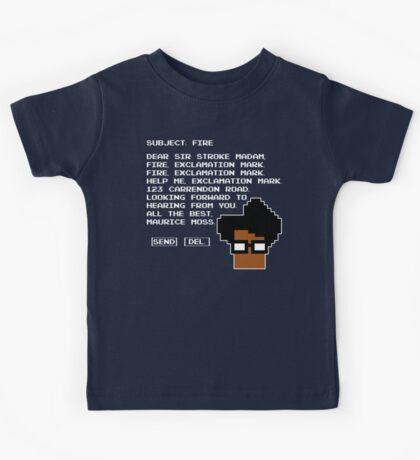 Subject Fire Moss T Shirt Kids Tee