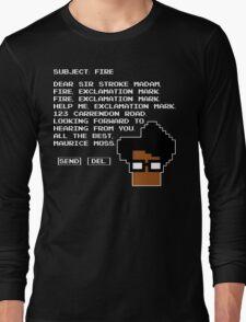 Subject Fire Moss T Shirt Long Sleeve T-Shirt