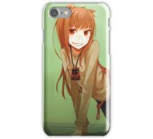 Space & wolf iPhone Case/Skin