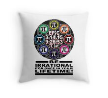Ultimate Memorial for Epic Pi Day  Symbols Throw Pillow