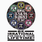 Ultimate Memorial for Epic Pi Day  Symbols by MudgeStudios