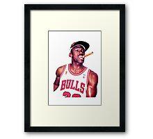 MJ Framed Print