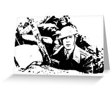 Parade's end - the trench Greeting Card