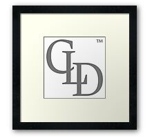 Luxury Redefined CLD Logo Framed Print