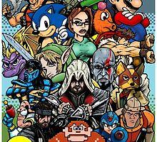 Video Game History by ArtOfOldSchool