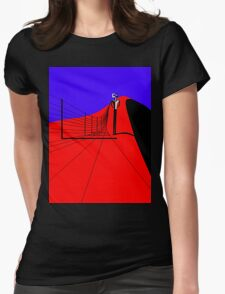 Ned walking the Fence Line T-Shirt