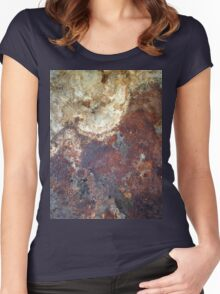 beautiful decay Women's Fitted Scoop T-Shirt