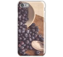 Beauty of Blueberries iPhone Case/Skin
