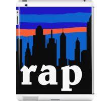 RAP, NYC skyline silhouette iPad Case/Skin