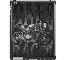 Keep Safety With Cafe Racer iPad Case/Skin