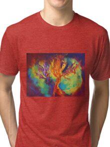 """Coral Forest"" original artwork by Laura Tozer Tri-blend T-Shirt"