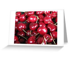 Cherry ripe Greeting Card