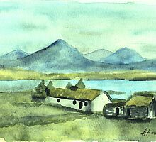 The Irish cottage by Alan Hogan