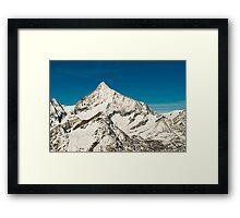 Weisshorn  Framed Print