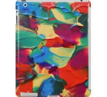 """Psychotropical"" original abstract artwork by Laura Tozer iPad Case/Skin"