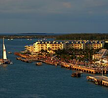 Mallory Square at Sunset by aggsys