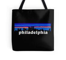 Philadelphia, skyline silhouette Tote Bag