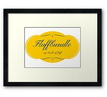 Fluffbundle Framed Print