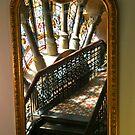 QVB Window in the Mirror by Katja Fønss