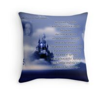 with Terilee...poetry by Roger Sampson Throw Pillow