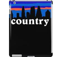 Country music. Austin skyline silhouette iPad Case/Skin