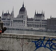 Waiting in Budapest 03 by Adrian Rachele