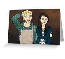 Andy & April Greeting Card