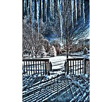 Icy Cold Photographic Print