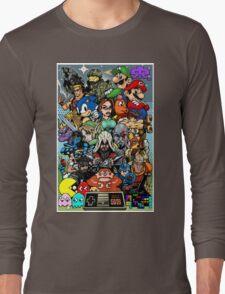 Video Game History Long Sleeve T-Shirt