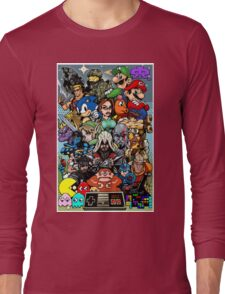 Video Game History Long Sleeve T-Shirt