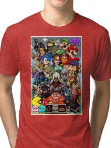 Video Game History Tri-blend T-Shirt