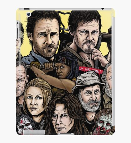 Walking Dead  iPad Case/Skin